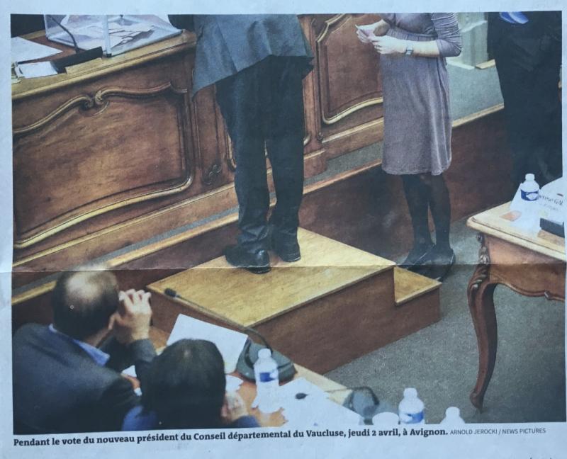 13c*%22Département. La parité s'arrête aux présidences. Seules dix femmes ont été élues à la tête de conseils départementaux. Le Monde 4 avril 2015. texte@Hélène Bekmezian photo@Ar:old Jerocki:News pictures_IMG_5728_1024