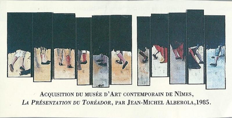 16i. La présentation du Toréador  Jean-Michel Alberola  1985