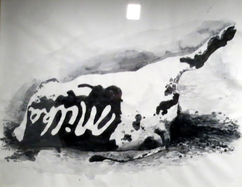 32y.Milka-Kuh  2003 de Damien Deroubaix. @mtw. png