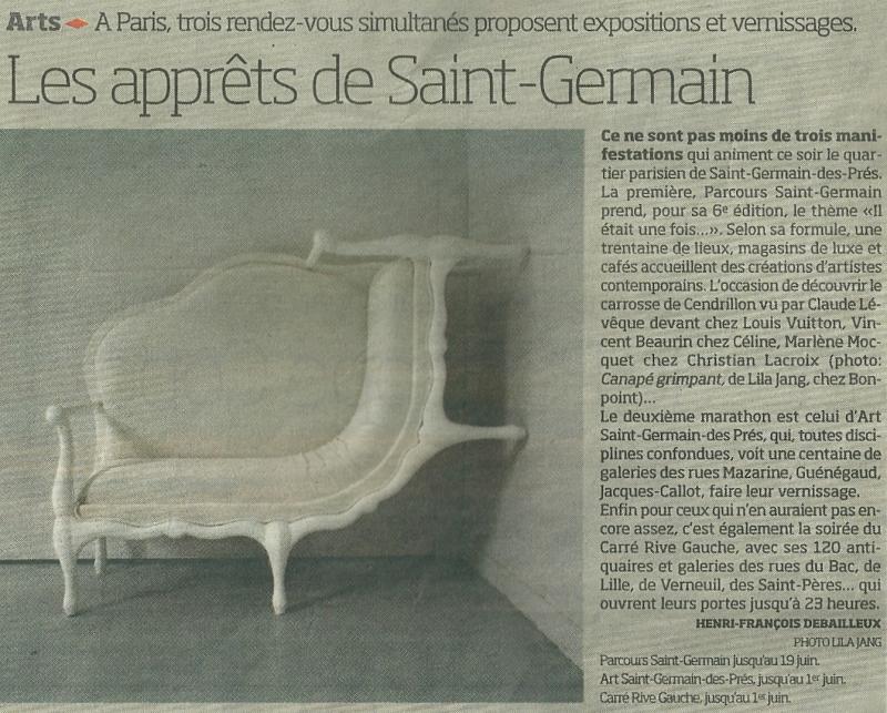 2e. %22Way out%22. Les apprêts de Saint-Germain. Libération 29 mai 2008. Texte@ Henri-François Debailleux photo@Lila Jang. png