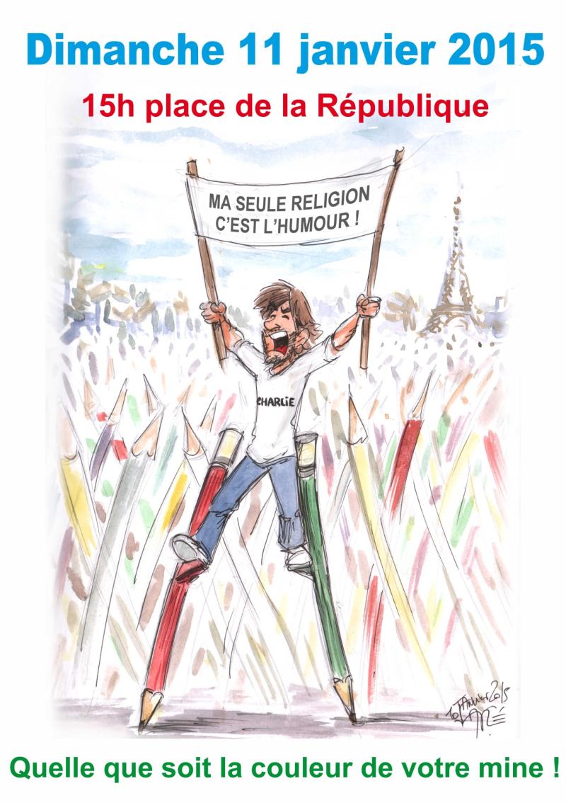 44d. Aré. Après les attentats contre Charlie Hebdo et l'Hypercacher de  janvier 2015 à Paris