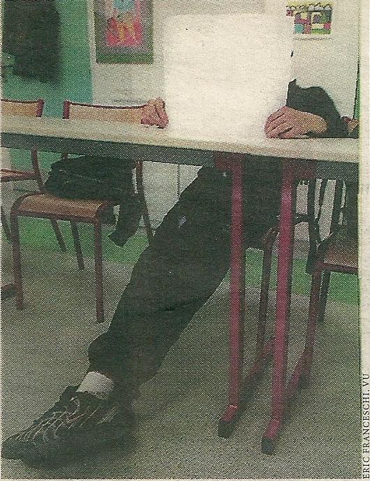 12a. %22A l'école de l'ennui%22. Libération 4 janvier 2003