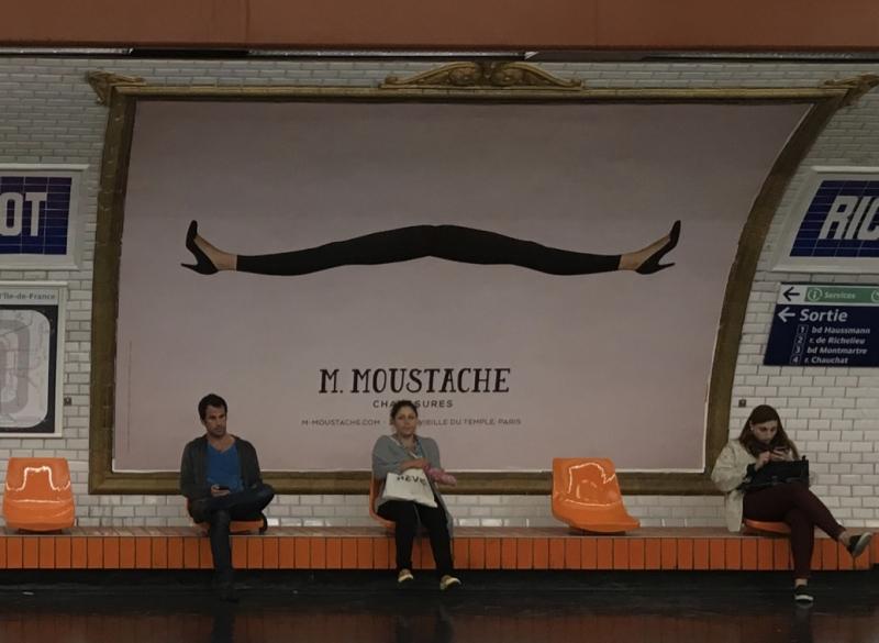 13e. Station de métro Richelieu Drouot. 16 Septembre 2016 @mtwIMG_4747_1024