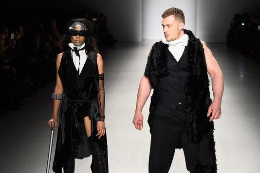42e. Fashion Week 2015. New York fait défiler les différences. Pour la première fois des mannequins handicapées participaient aux shows
