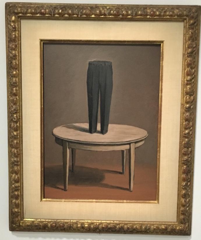 Lettres persanes  1958  René Magritte