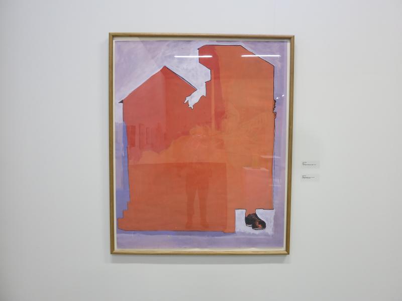 16j. Jean- Michel Alberola. D'après Giotto. Palais de Tokyo 2016