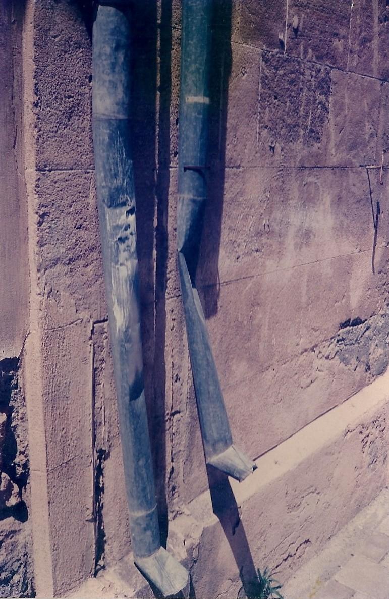 29b. Où la gambologue commençait à voir des jambes partout. St Petersbourg 1992 @mtw