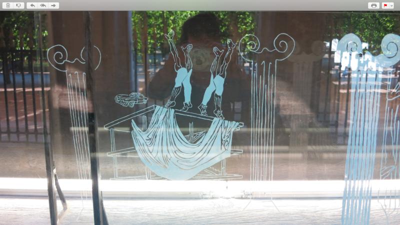 4b. Vitrine Serge Lutens. Palais royal. 2015.@mtw Paris.