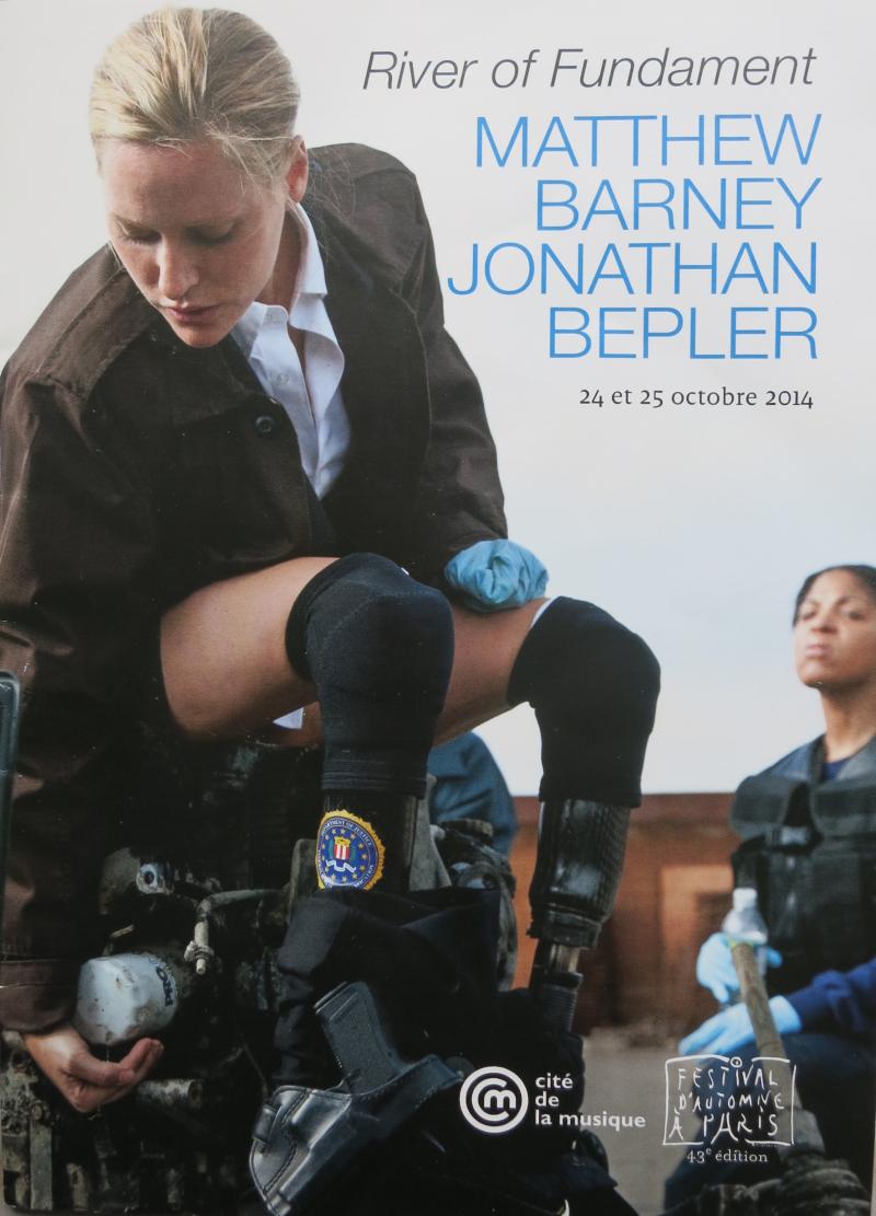 43h. Matthew Barney and Jonathan Bepler. River of Fundament. 24 et 25 octobre 2014. @Ivano Gasso. IMG_5539